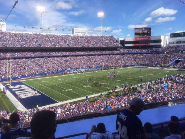 New Era Field, sección: 238, fila: 5, asiento: 1