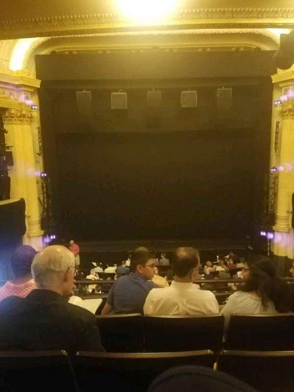 Hudson Theatre, sección: dress circle c, fila: e, asiento: 108