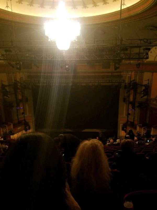 Neil Simon Theatre, sección: mezz, fila: P, asiento: 116