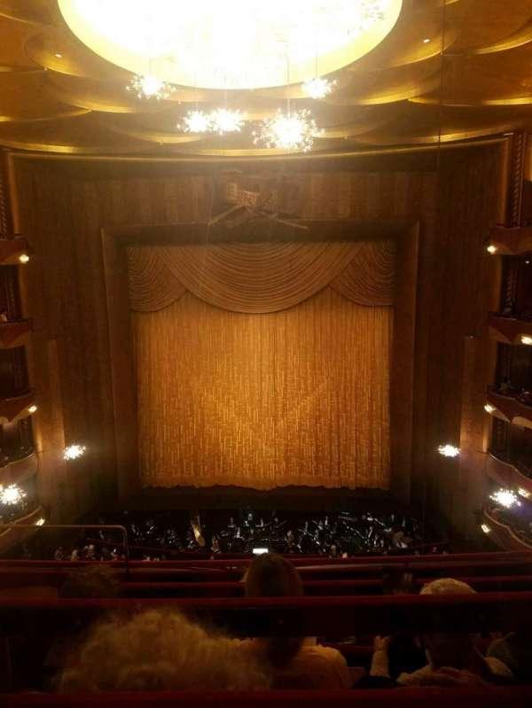 Metropolitan Opera House - Lincoln Center, sección: Balcony, fila: D, asiento: 104