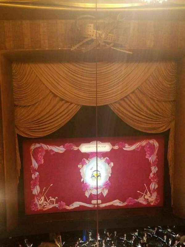 Metropolitan Opera House - Lincoln Center, sección: Balcony, fila: C, asiento: 117