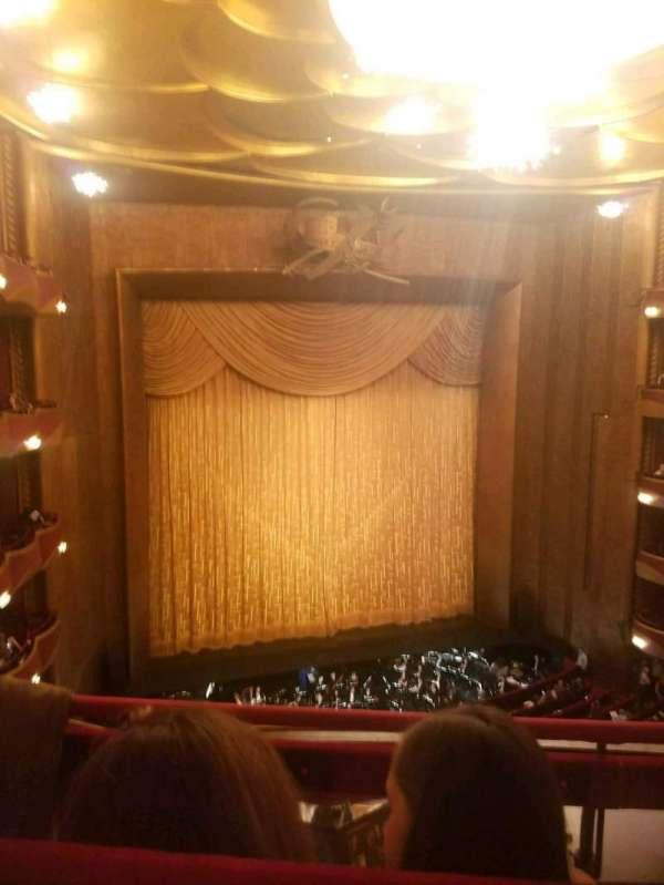 Metropolitan Opera House - Lincoln Center, sección: Balcony, fila: B, asiento: 9