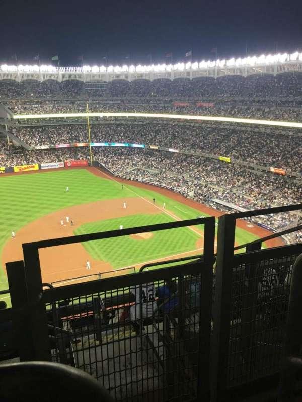 Yankee Stadium, sección: 426, fila: 11, asiento: 1