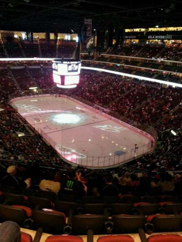 Gila River Arena, sección: 226, fila: N, asiento: 10