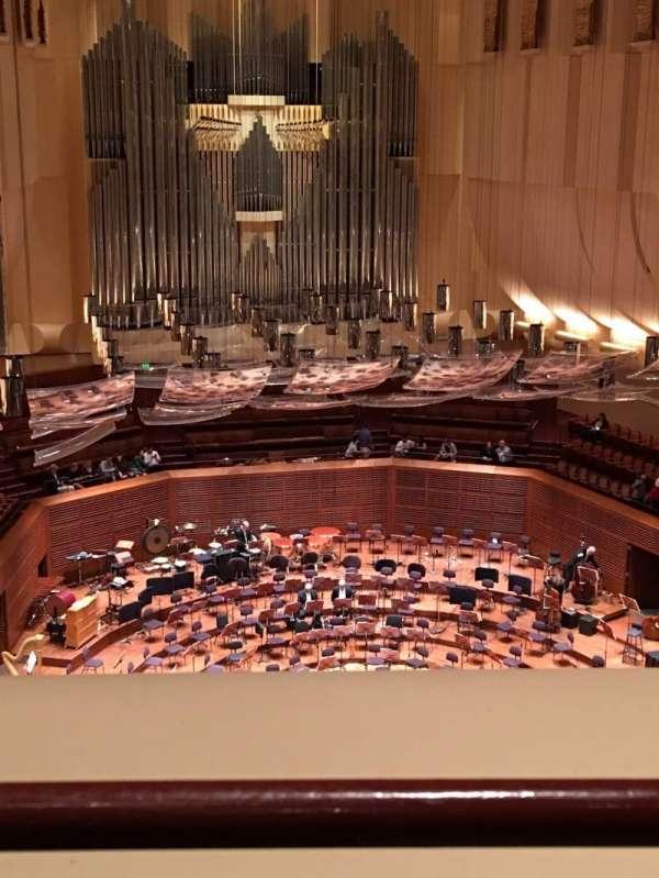 Davies Symphony Hall, sección: 2nd Tier DD, fila: A, asiento: 113