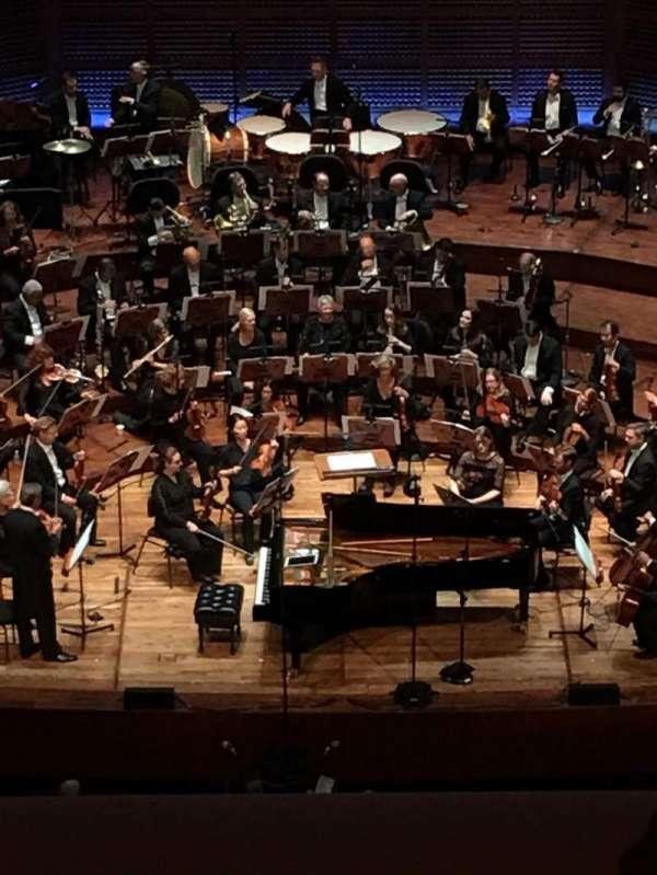 Davies Symphony Hall, sección: 2nd Tier EE, fila: B, asiento: 107