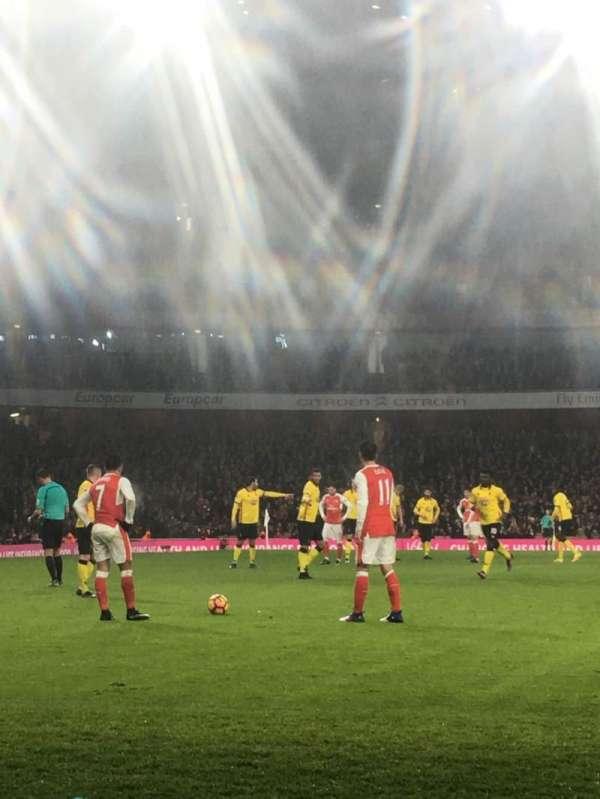 Emirates Stadium, sección: 2, fila: 2, asiento: 56