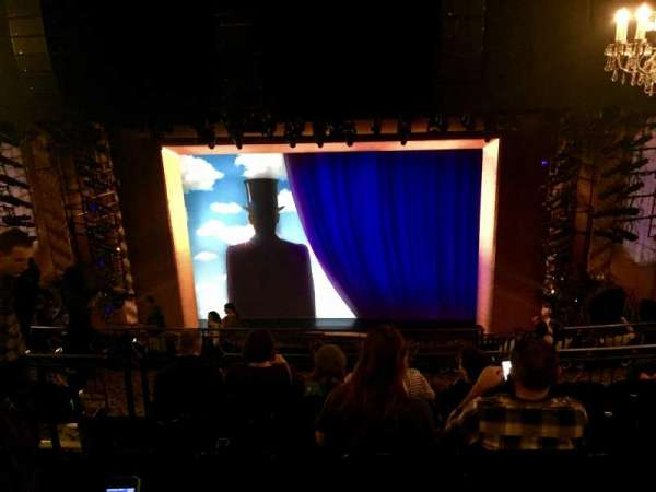 Lunt-Fontanne Theatre, sección: Rear Mezzanine RC, fila: G, asiento: 108