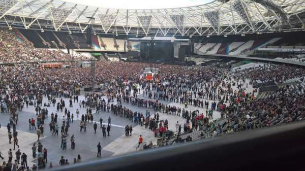 London Stadium, sección: 256, fila: 41, asiento: 666
