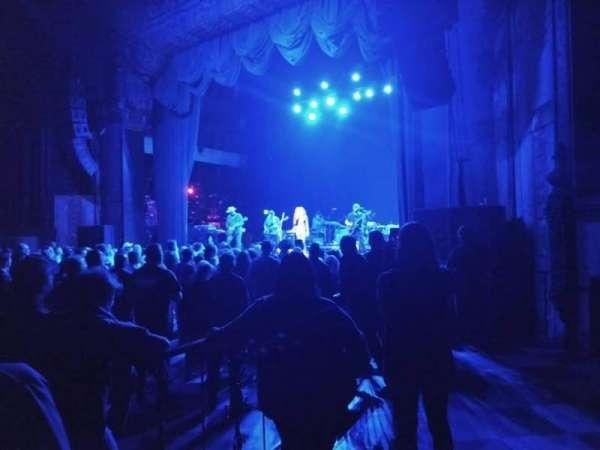 The Fonda Theatre, sección: Floor, fila: GA, asiento: Right side of thea