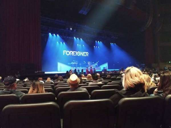 Microsoft Theater, sección: ORCH LEFT, fila: P, asiento: 505