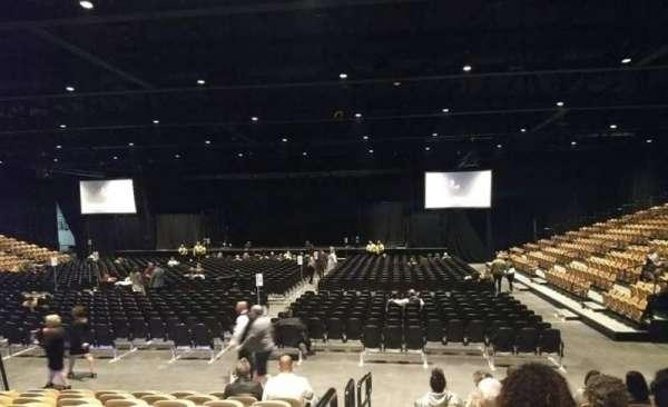 The Special Events Center at the Fantasy Springs Resort Casino, sección: SS, fila: G, asiento: 8