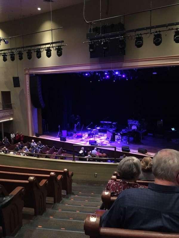 Ryman Auditorium, sección: 11, fila: G, asiento: 10