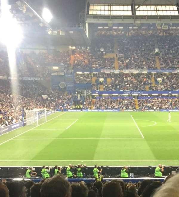 Stamford Bridge , sección: West stand lower, fila: 31, asiento: 190