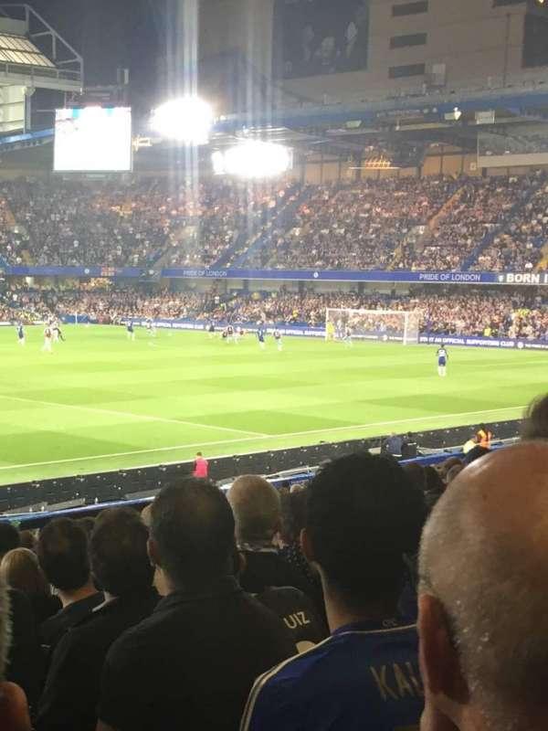 Stamford Bridge, sección: West stand lower, fila: 31, asiento: 190