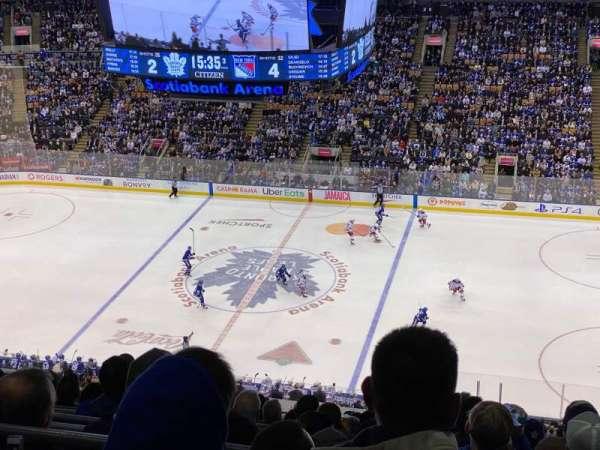Scotiabank Arena, sección: 320, fila: 15, asiento: 8