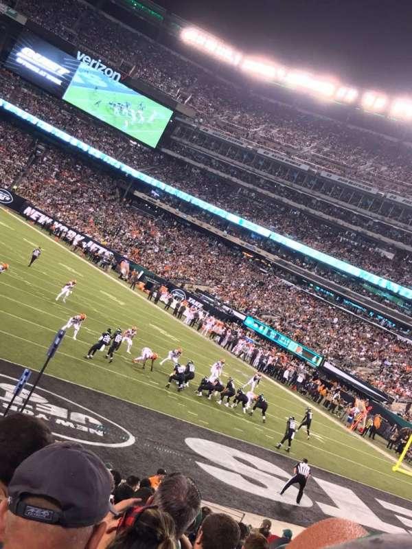 MetLife Stadium, sección: 104, fila: 18, asiento: 16