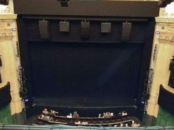 Hudson Theatre, sección: Balcony C, fila: B, asiento: 108