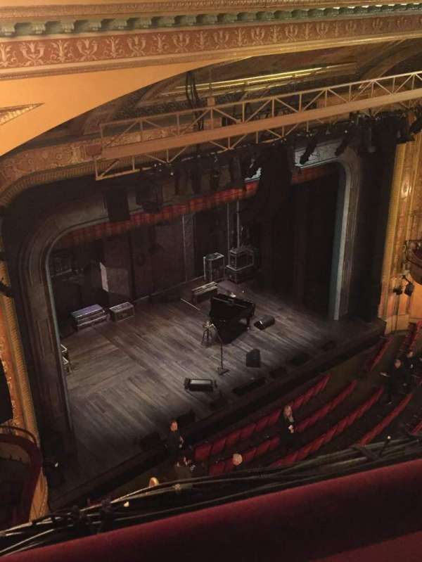Walter Kerr Theatre, sección: Balcony Left, fila: A, asiento: 41