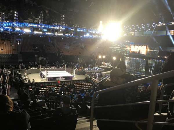 Scotiabank Arena, sección: 120, fila: 22, asiento: 1