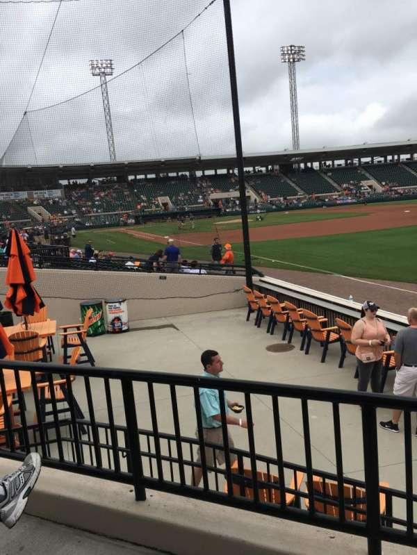 Joker Marchant Stadium, sección: Pepsi Pavilion