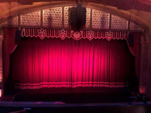 Fox Theatre (Atlanta), sección: Loge Left A, fila: EE, asiento: 109