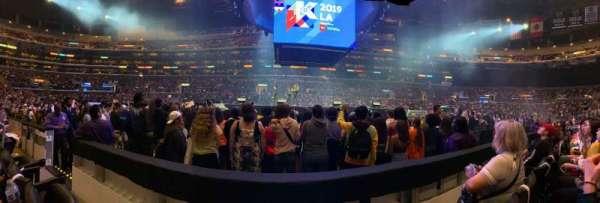 Staples Center, sección: 111, fila: 2