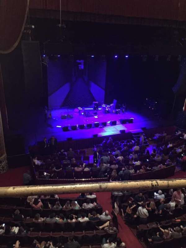 Wang Theatre, sección: Mezzanine LC, fila: A