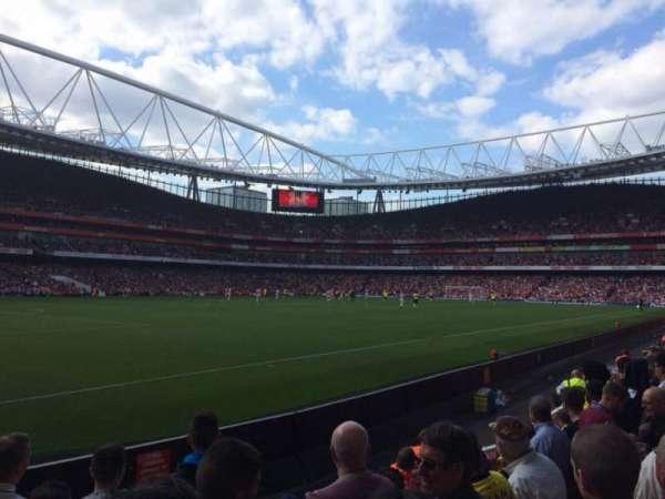 Emirates Stadium, sección: 20, fila: 6, asiento: 628