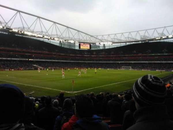 Emirates Stadium, sección: 21, fila: 14, asiento: 654