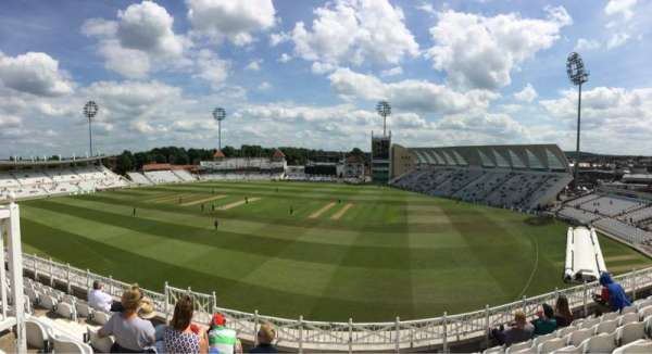 Trent Bridge, sección: Main stand, fila: Middle Tier