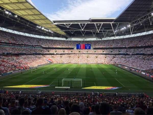 Wembley Stadium, sección: 133, fila: 44, asiento: 309