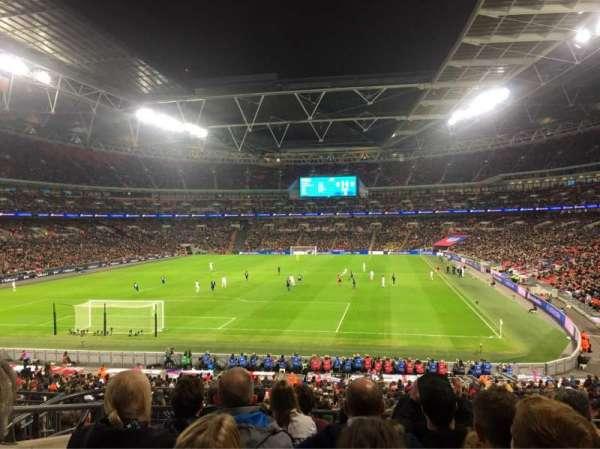 Wembley Stadium, sección: 110, fila: 37, asiento: 219