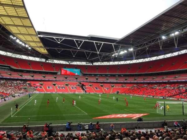 Wembley Stadium, sección: 136, fila: 21, asiento: 63