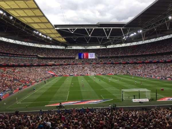 Wembley Stadium, sección: 135, fila: 34, asiento: 36