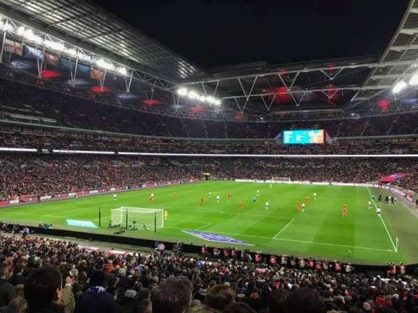 Wembley Stadium, sección: 109, fila: 35, asiento: 209