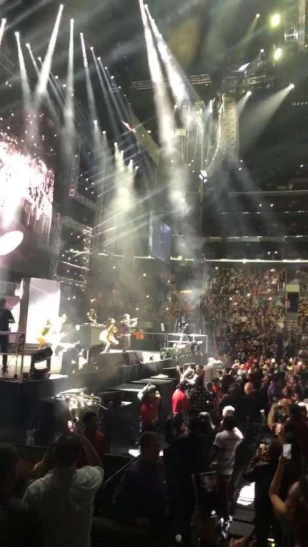 Staples Center, sección: 112, fila: 6, asiento: 21