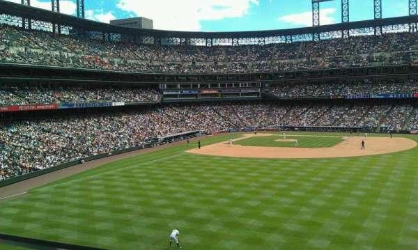 Coors Field, sección: 204, fila: 1, asiento: 20