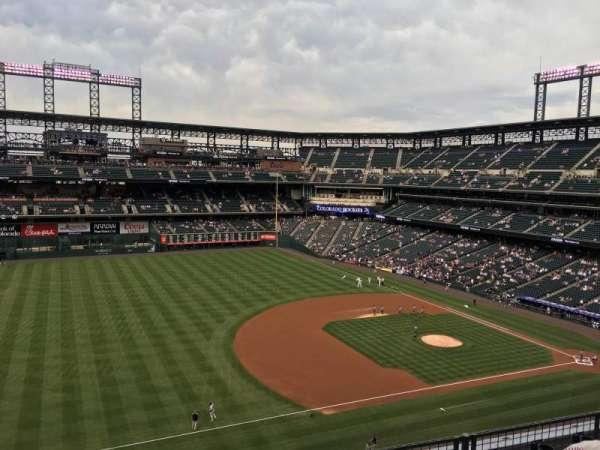 Coors Field, sección: L343, fila: 4, asiento: 10