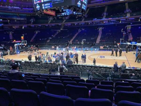 Madison Square Garden, sección: 118, fila: 11, asiento: 12