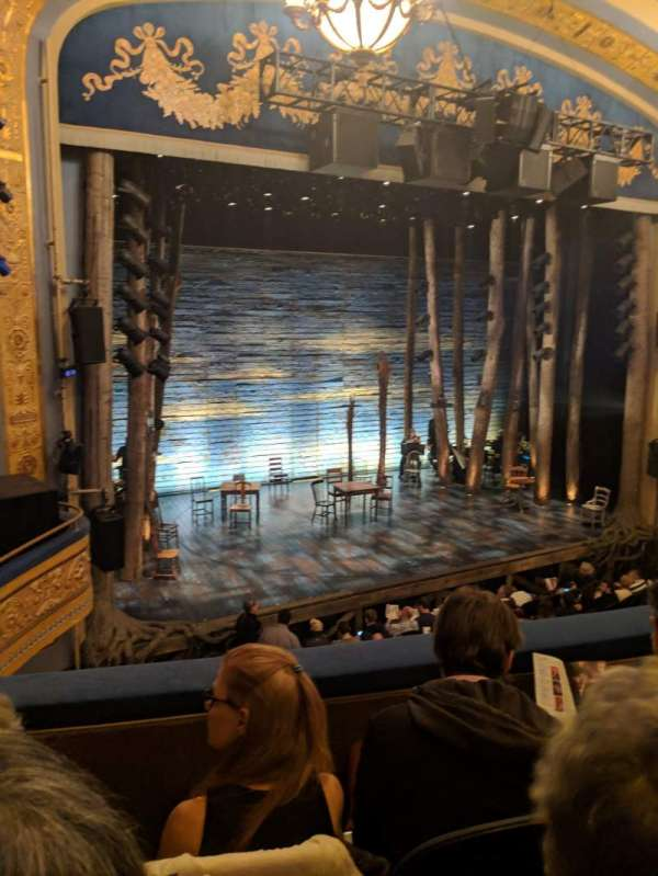 Gerald Schoenfeld Theatre, sección: Mezzanine L, fila: C, asiento: 13