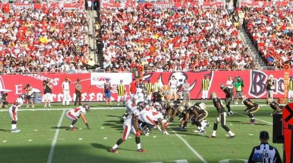 Raymond James Stadium, sección: 107, fila: G, asiento: 22