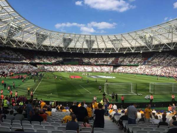 London Stadium, sección: Away Disabled Section