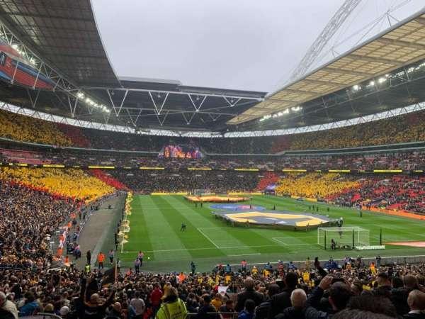 Wembley Stadium, sección: 114, fila: 40, asiento: 68