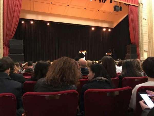 The Town Hall, sección: Orchestra, fila: O, asiento: 125