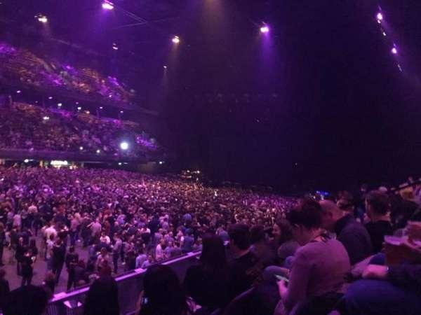 Ziggo Dome, sección: 104, fila: 5, asiento: 117