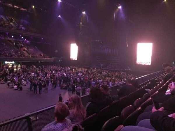 Ziggo Dome, sección: 104, fila: 4, asiento: 104