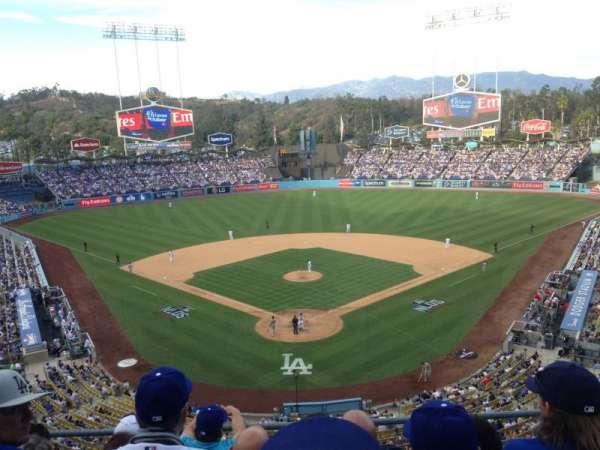 Dodger Stadium, sección: 44RS, fila: O, asiento: 5