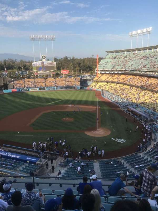 Dodger Stadium, sección: Reserve MVP 9, fila: L, asiento: 6