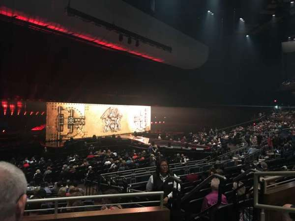 Park Theater at Park MGM, sección: 306, fila: C, asiento: 3
